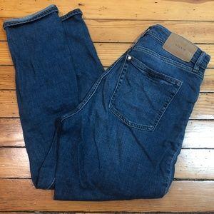 &Denim Mom Jeans